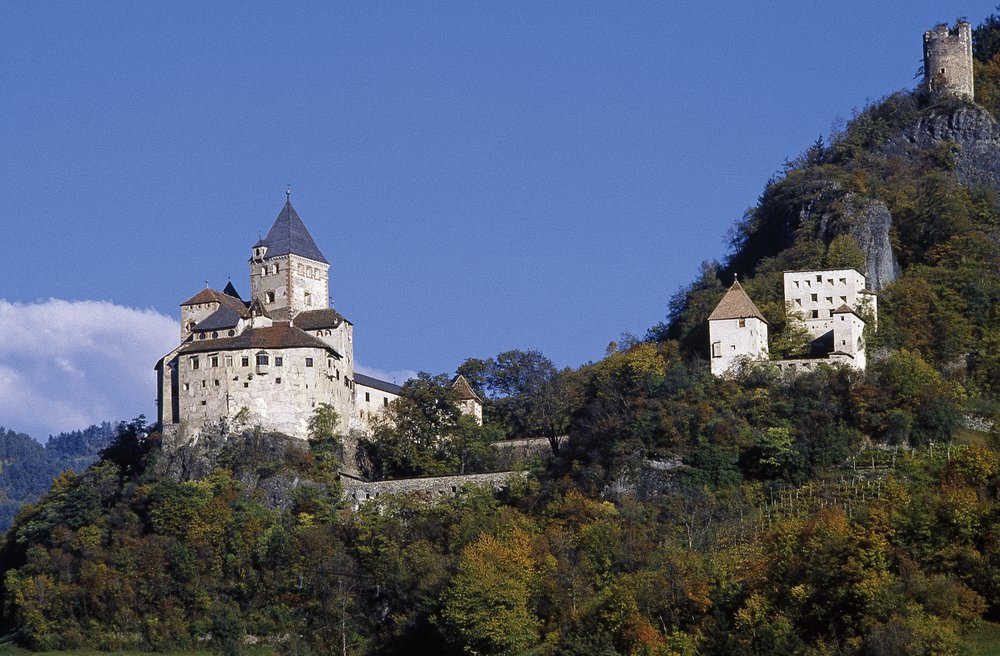 Castel Trostburg a Ponte Gardena in Valle Isarco