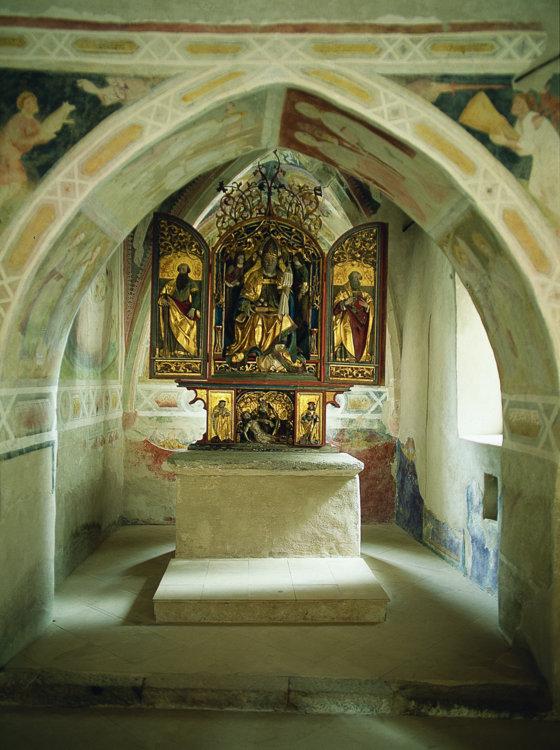 Altar Dreikirchen in Barbian