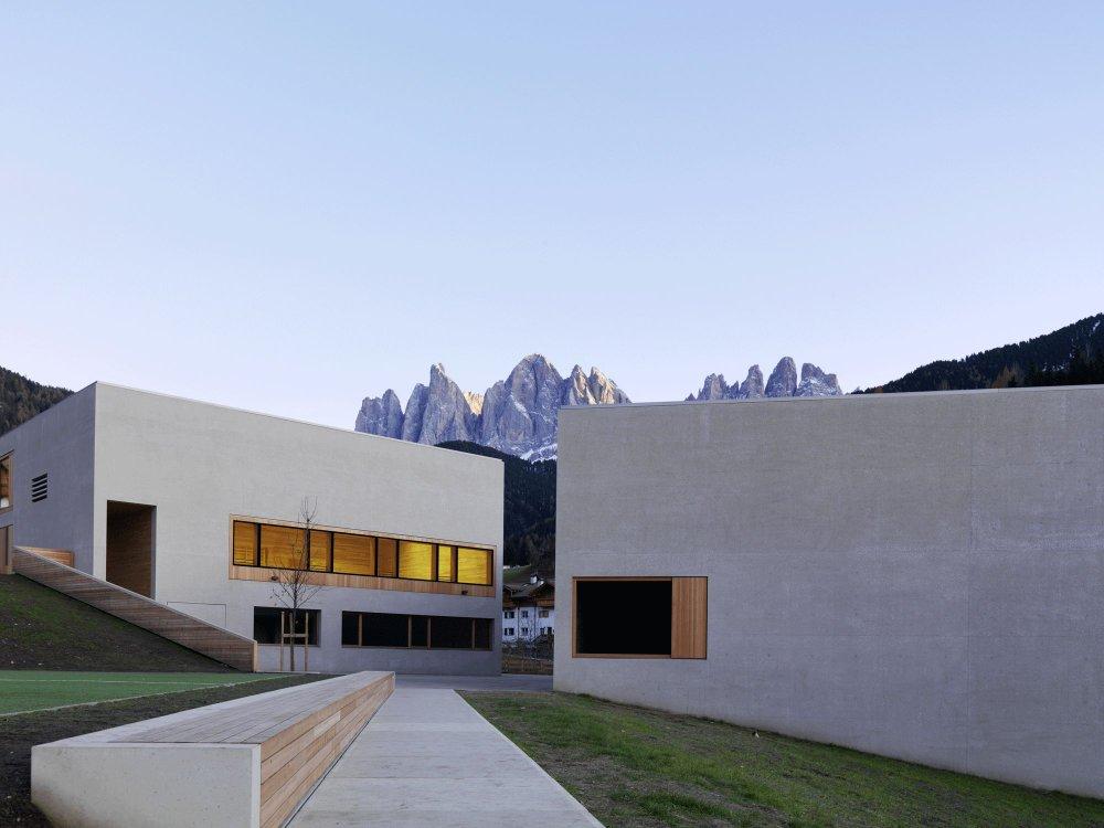 Il centro visite Puez-Odle a Funes
