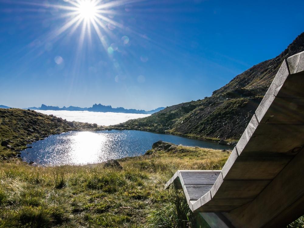 Totensee lake