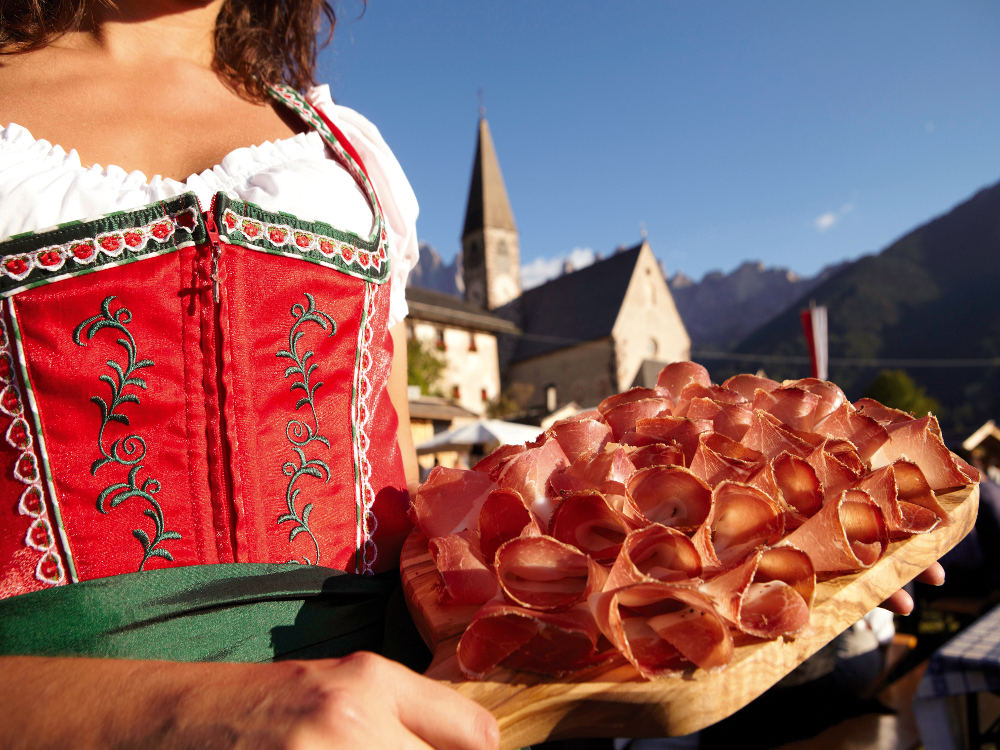 Südtiroler Speckfest in Villnöss