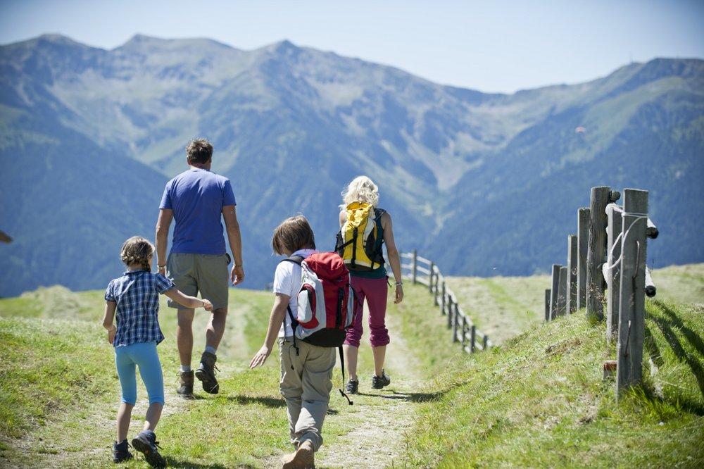 Wandern mit der Familie im Tal der Wege