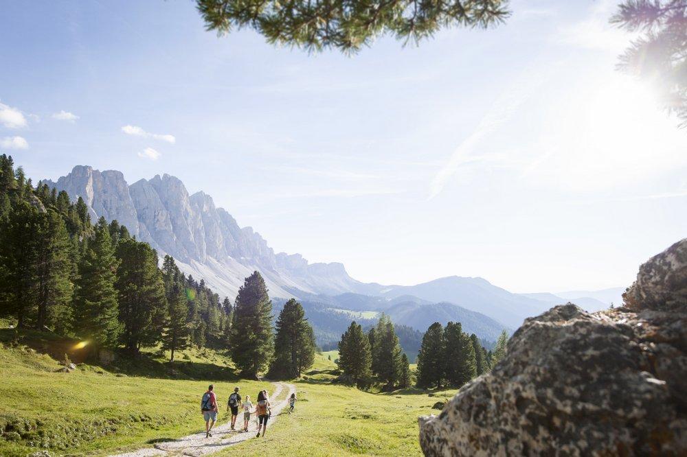 Wandern im Dolomitental Villnöss