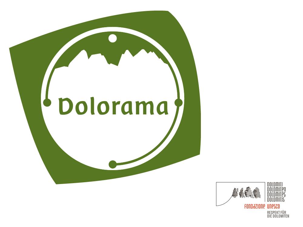 Dolorama - Dolomiten Unesco-Logo