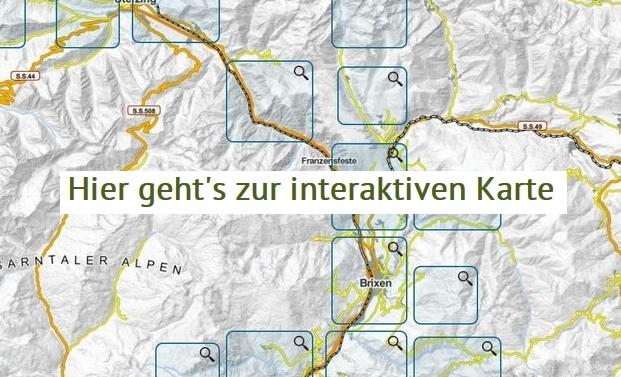 Interaktive Karte Dolorama-Weg